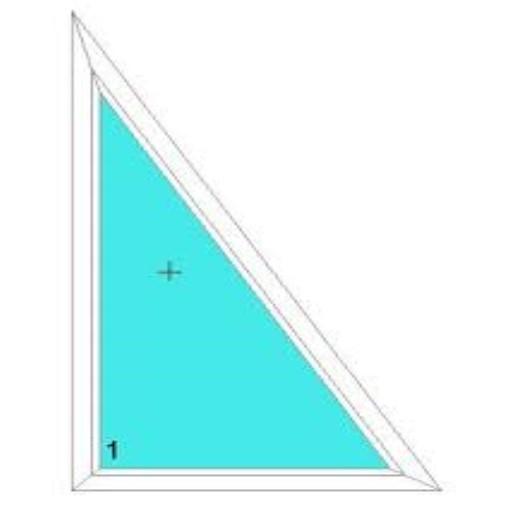 Háromszög ablakok
