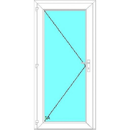 Üveg bejárati ajtók